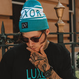 BLIZZARD beanie, Teal (no ball)