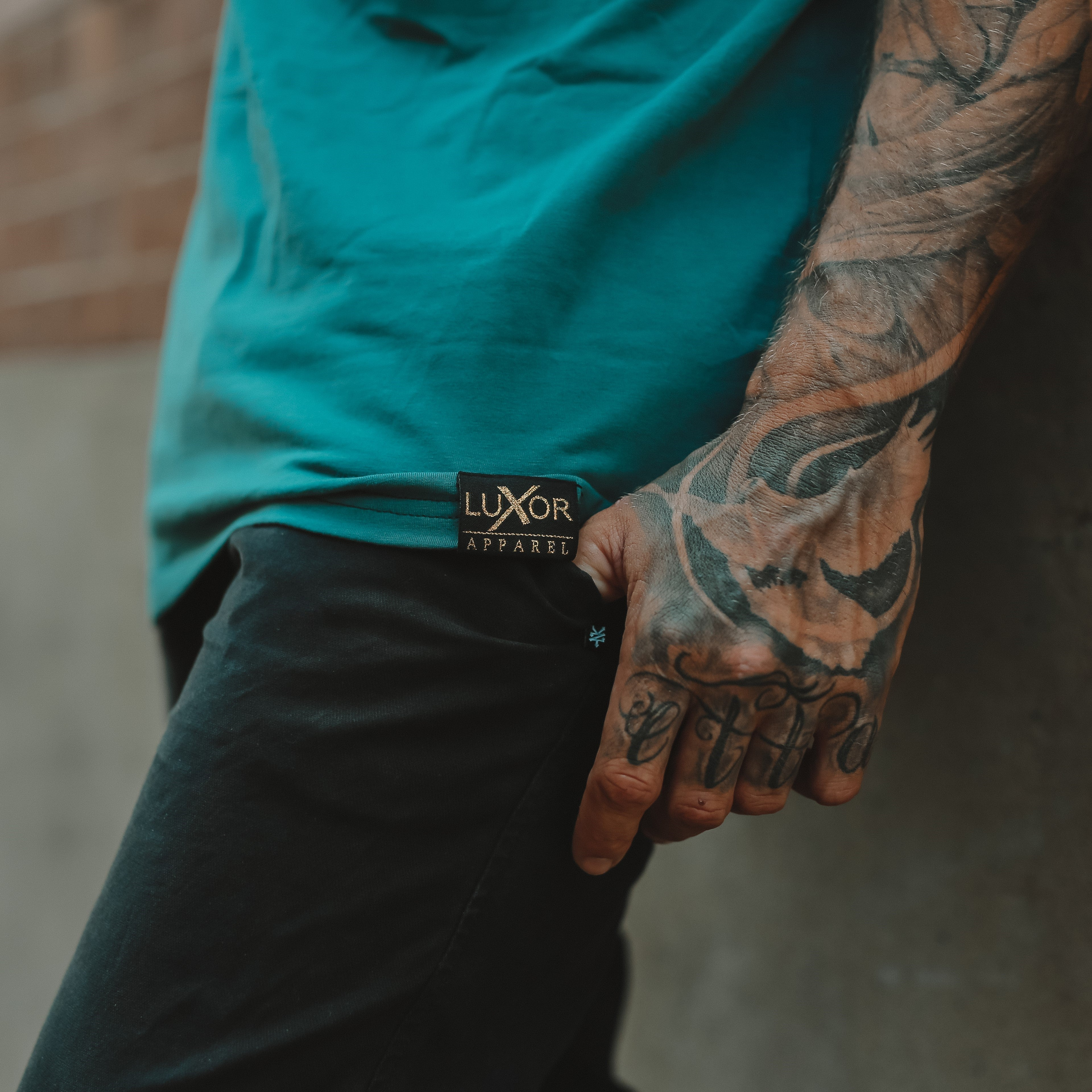 CALIBRE Tee V2 , Ocean Green