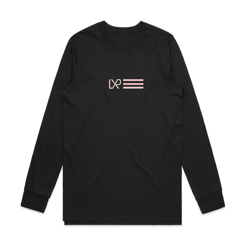 NEW: NATION Long Sleeve T-shirt, Black