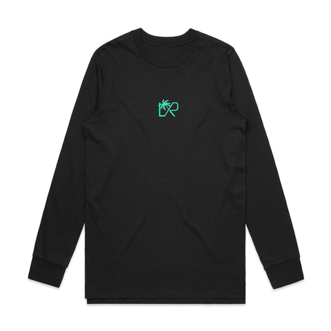 NEW: VACAY Long Sleeve T-shirt, Black