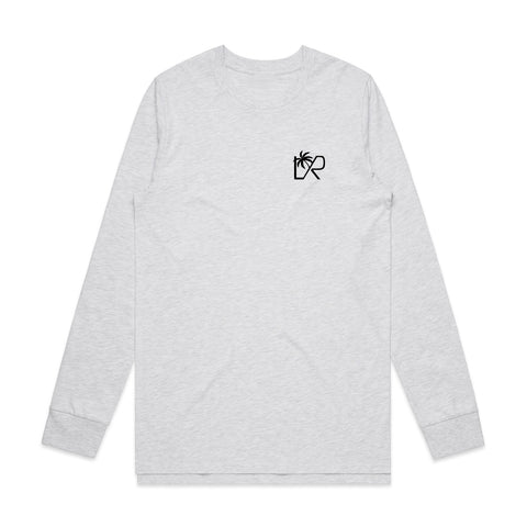 NEW: VACAY Long Sleeve T-shirt, Heather grey