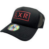 LXR Trucker Cap, RED PRINT