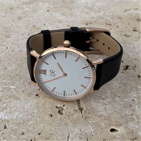 LXR Women's leather watch