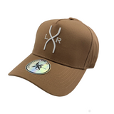 SPYDER A-frame cap, Tan & White (Small fit)