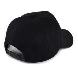 Baseball Cap, black on black