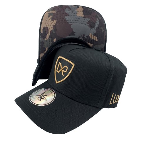 VIPER A-frame, Black & Gold (Camo Under Peak)