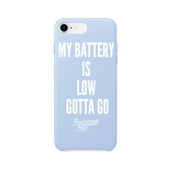 Battery is Low Gotta Go Phonecase