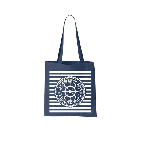Cruise Navy Tote Bag