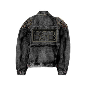 BSB Dark Grey Denim Jacket