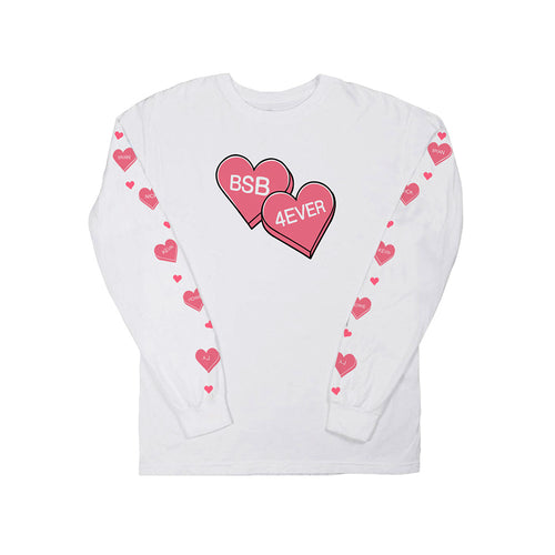 Candy Hearts L/S Tee