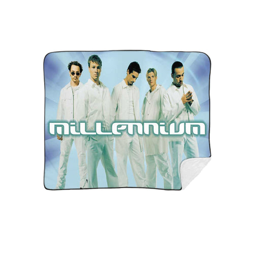 Sublimated Millennium Album Cover Fleece Blanket