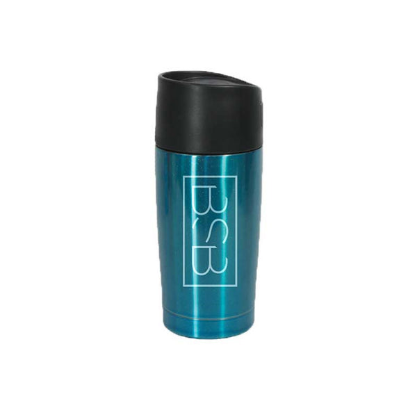 Vertical Logo Travel Mug