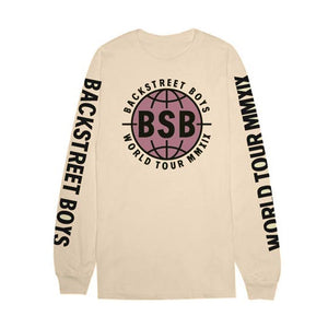 BSB World Tour Long Sleeve Tee