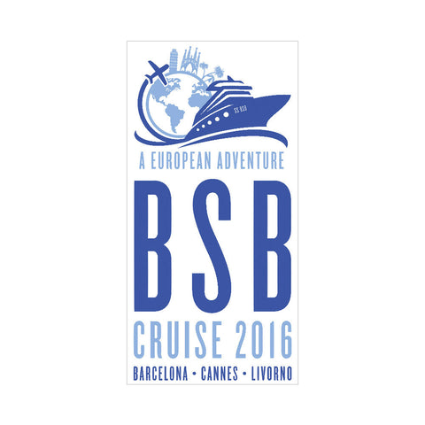 BSB Cruise Beach Towel