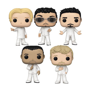 Funko POP! Games: Backstreet Boys Complete Set of 5