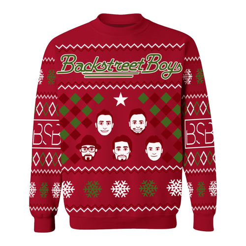 Emoji Holiday Crewneck Sweater