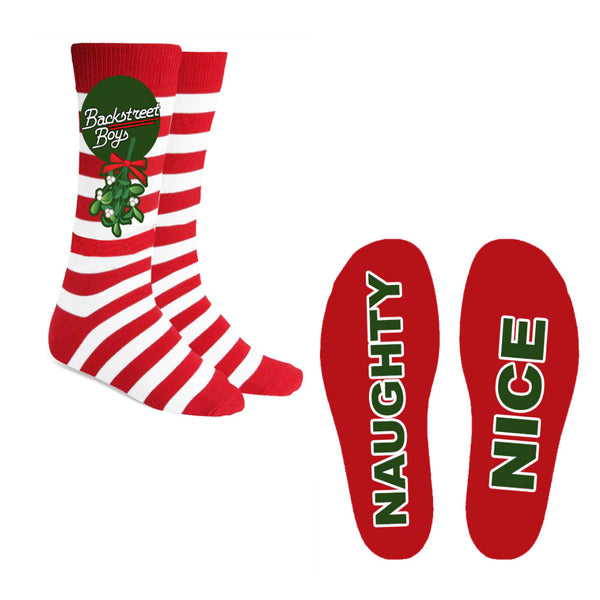 Under The Mistletoe Christmas Socks