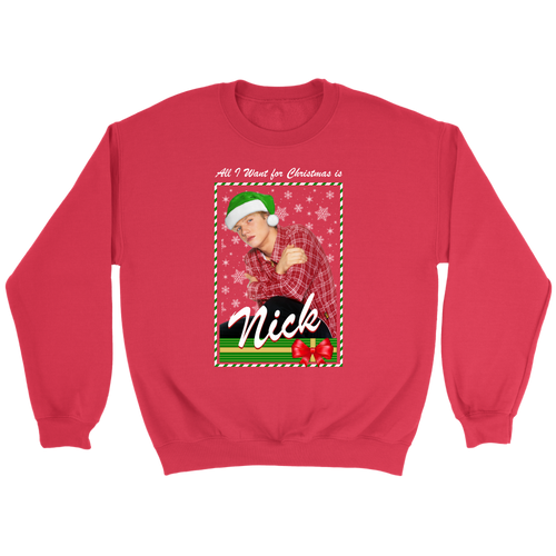 Nick Holiday Crewneck