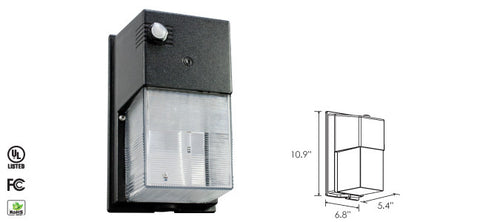 Wall Pack - 30 Watt - M/LED Mini