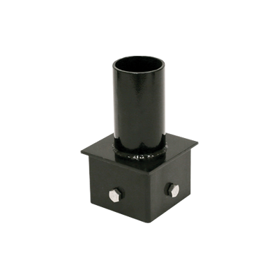 "Pole Top - 4"" Square Short - Tenon Vertical - M/LED"