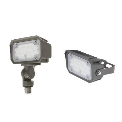 Flood Light - 15 Watt Knuckle Mount 3K & 5k - P/LED