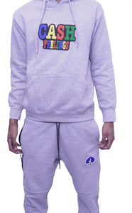 Relentless Track Suit(Grey)