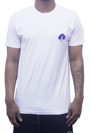 Logo Tee(White/Blue Heart)