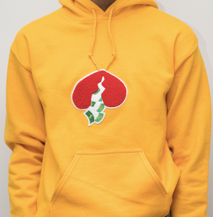 Got Heart Hoodie(Yellow/Red Heart)