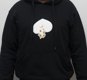 Got Heart Hoodie(Black/White Heart)