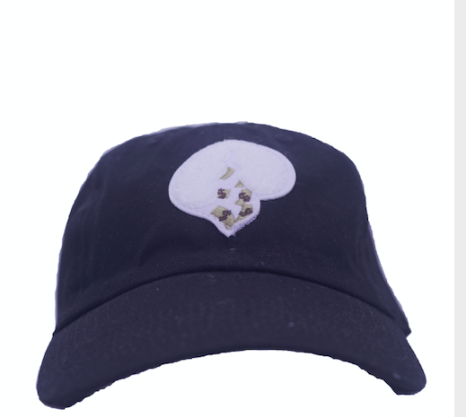 Black Logo Hat(White Heart)