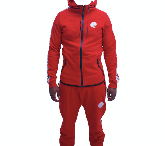 Red and White (Glacier) Tracksuit