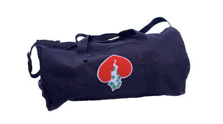 Got Heart Duffle Bag(Black/Red)