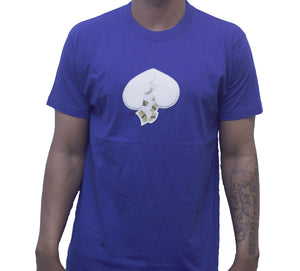 Got Heart T-Shirt(Royal Blue)