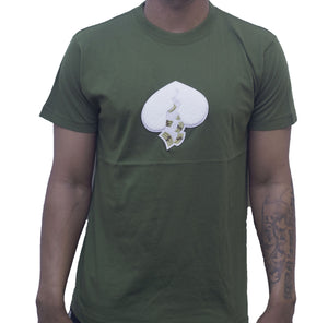 Got Heart T-Shirt(Olive Green)