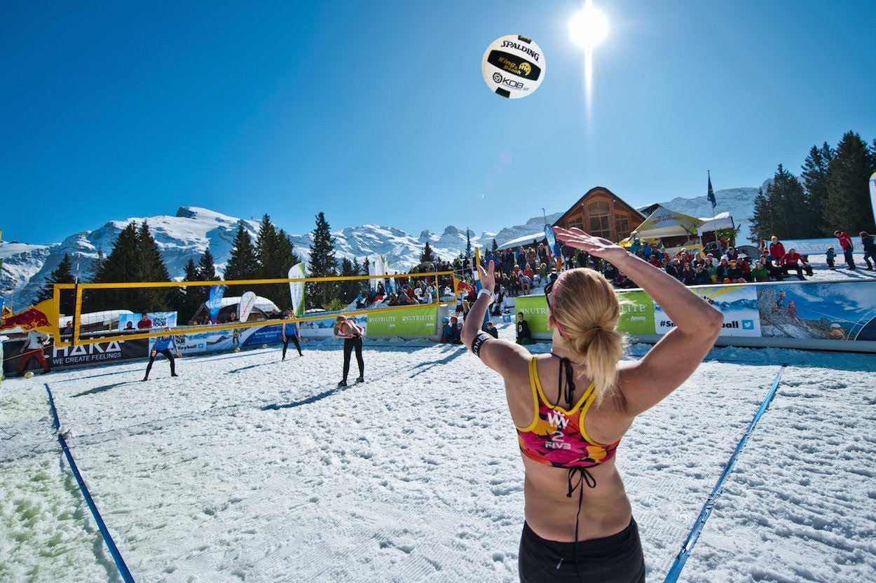 Snow Volleyball  Coming to Mammoth in 2018?