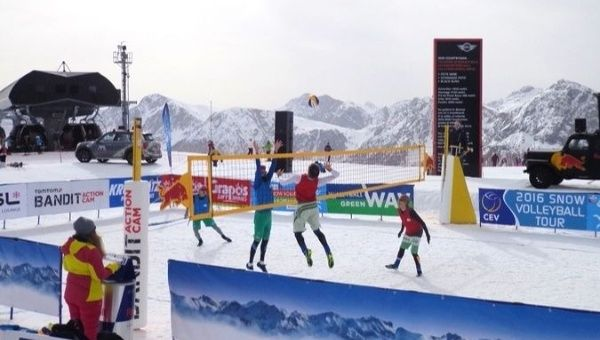 Snow volleyball will make case for Olympics in Pyeongchang
