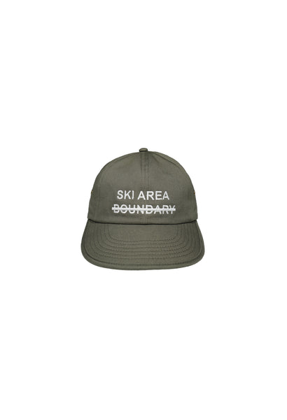 SKI AREA 6 Panel Soft Brim Cap