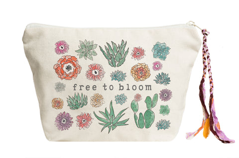 Free to Bloom | Pouch