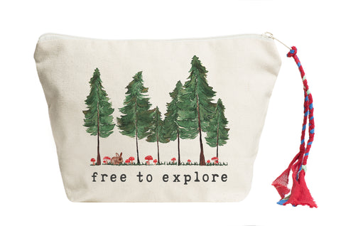 Free to Explore | Pouch