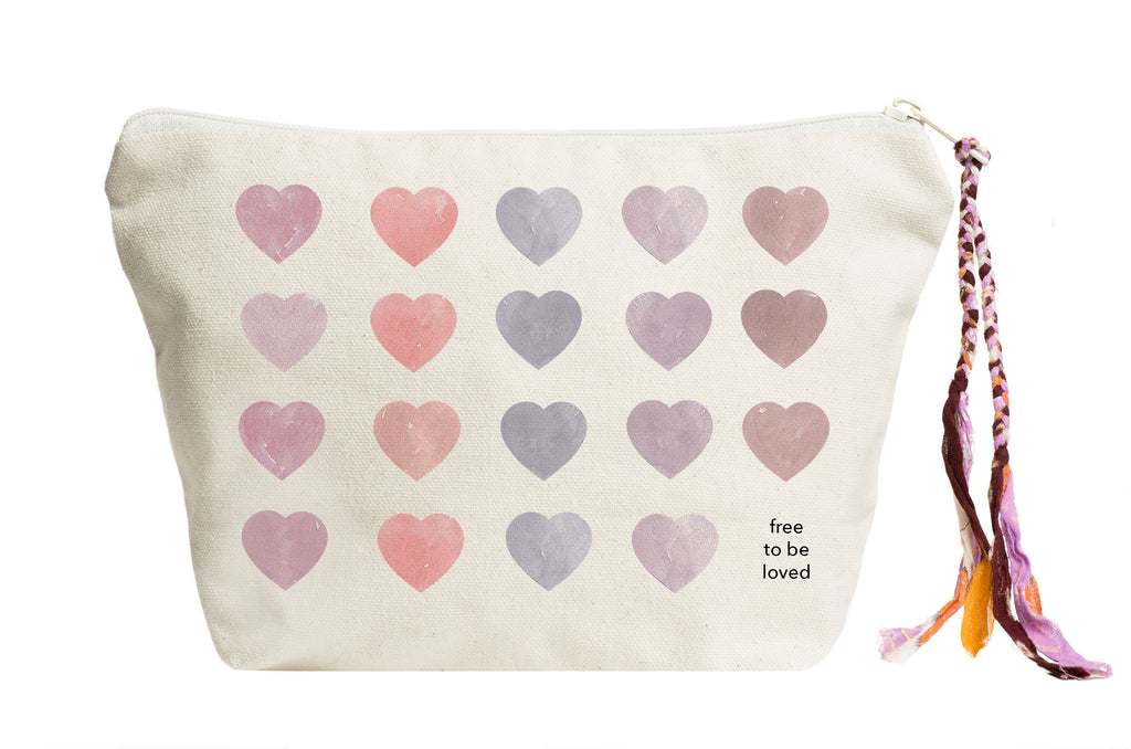 Free to Be Loved | Pouch