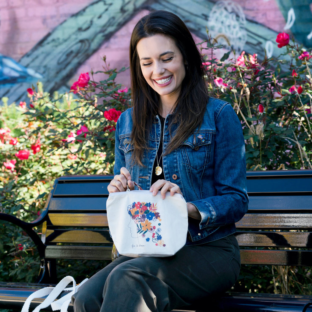 Free to Blossom x Torrey DeVitto | Pouch