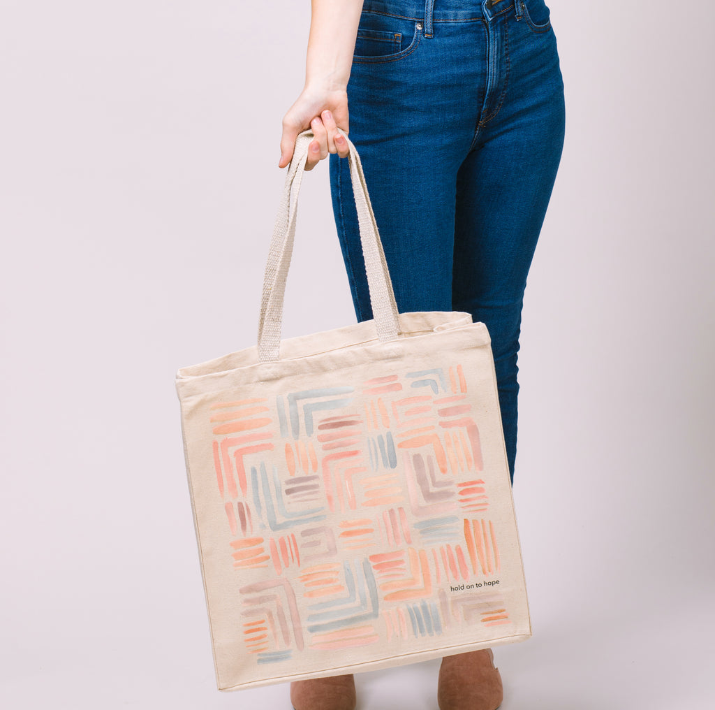 Hold On To Hope | Tote