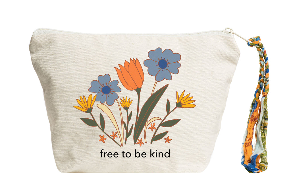 Free to Be Kind | Pouch