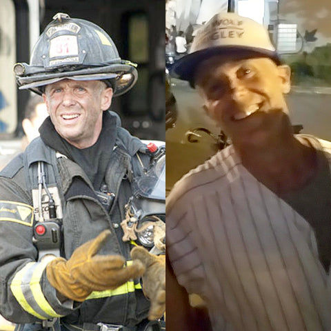 David Eigenberg, who plays Christopher Hermann on the hit TV show Chicago Fire.