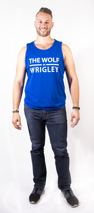 The Wolf of Wrigley Men's Tank