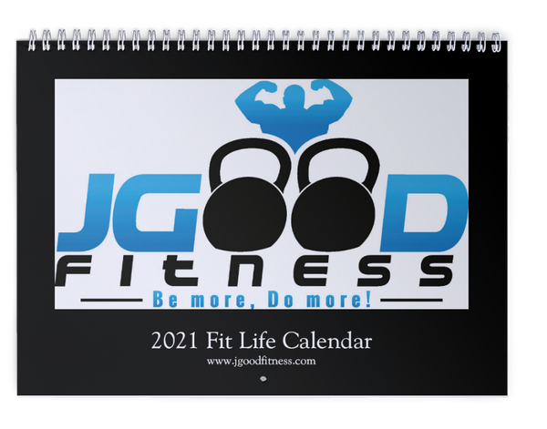 JGood Fitness 2020 Wall Calendar