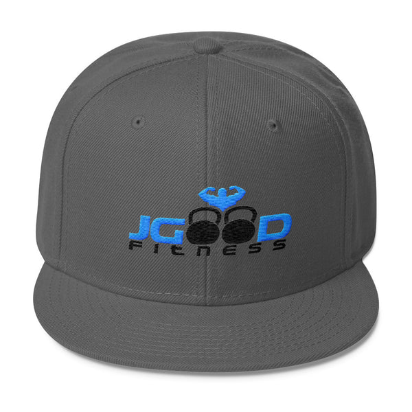 JGood Fitness Snapback (BL)