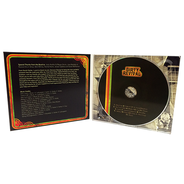 CD Digipak 4 Panel - 1 Disc