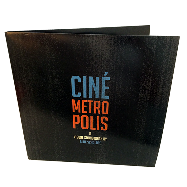 "12"" Gatefold - Single or Two Pockets, Full Color"