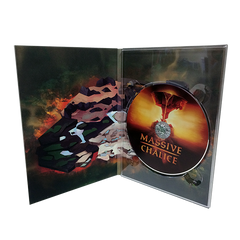 DVD Digipak Tall 4 panel